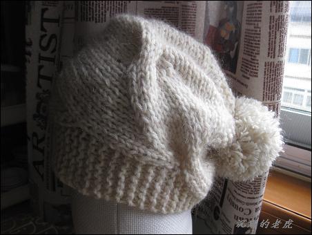 学织毛线帽