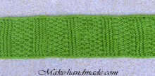 beautiful headband for girl: knitting tutorial