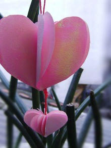 sweet heart ornaments for valentine