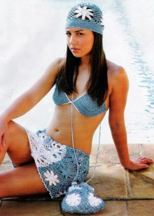summer fashion for women: crocheted swimsuits