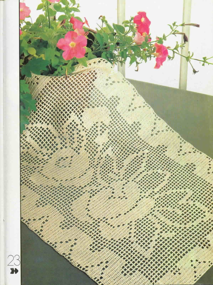 Decorative Crochet Magazines 12(1) - 木棉花 - 雨茫茫,雾茫茫,盼望花开,花已落……