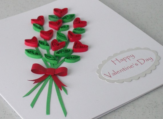 valentine photo cards  make handmade crochet craft