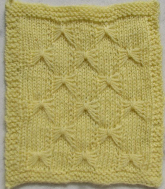 Knitting Butterfly Stitch Pattern : how to: knitting butterfly stitch make handmade, crochet, craft