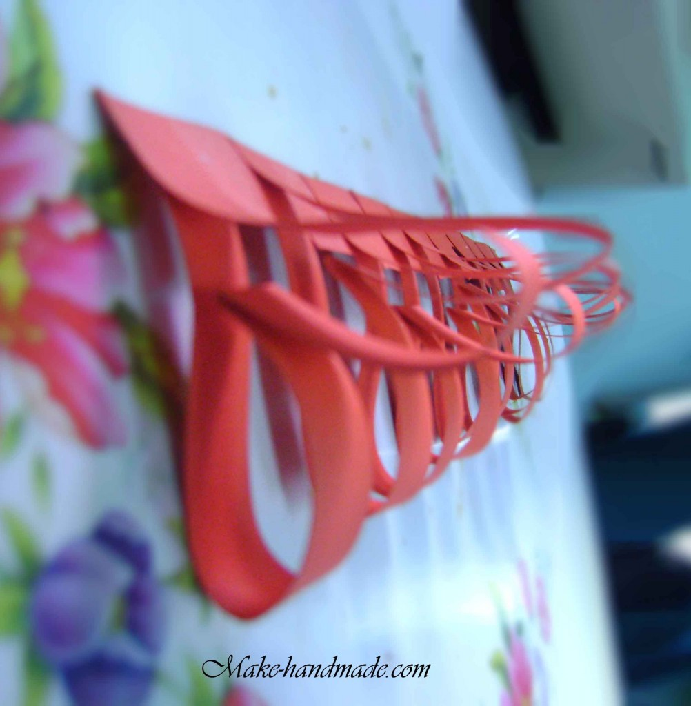 Sweet Valentine Ideas Paper Heart For Valentine Table Make