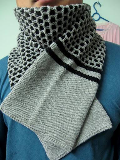 Beautiful Scarf For Men Knitting Tutorial Make Handmade Crochet