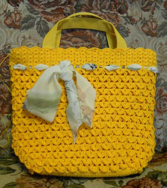 How To Make A Crochet Bag : to crochet bag handles - crocodile stitch bag, video tutorial make ...