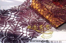 lace scarf: crochet patterns
