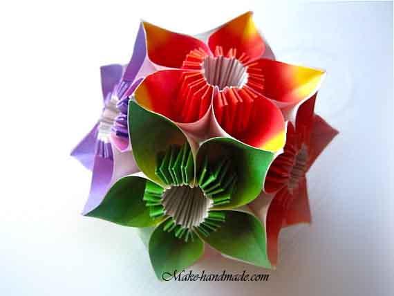How to make origami magic ball? | 428x570