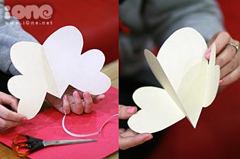 Thiep Valentine handmade, làm thiệp valentine handmade