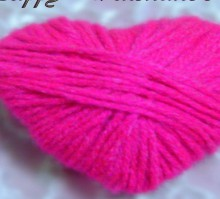 valentine crafts ideas for kids: wool sweet heart