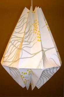 unique lanterns decorate