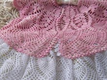 crochet beautiful skirt for little girl