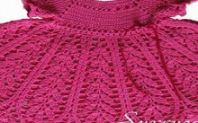 beautiful crocheted dress for little girls