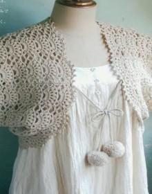crochet bolero for girls