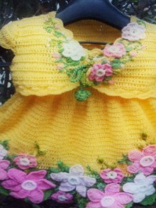 crochet daffodil flowers pattern