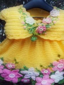 crochet daffodil flowers pattern
