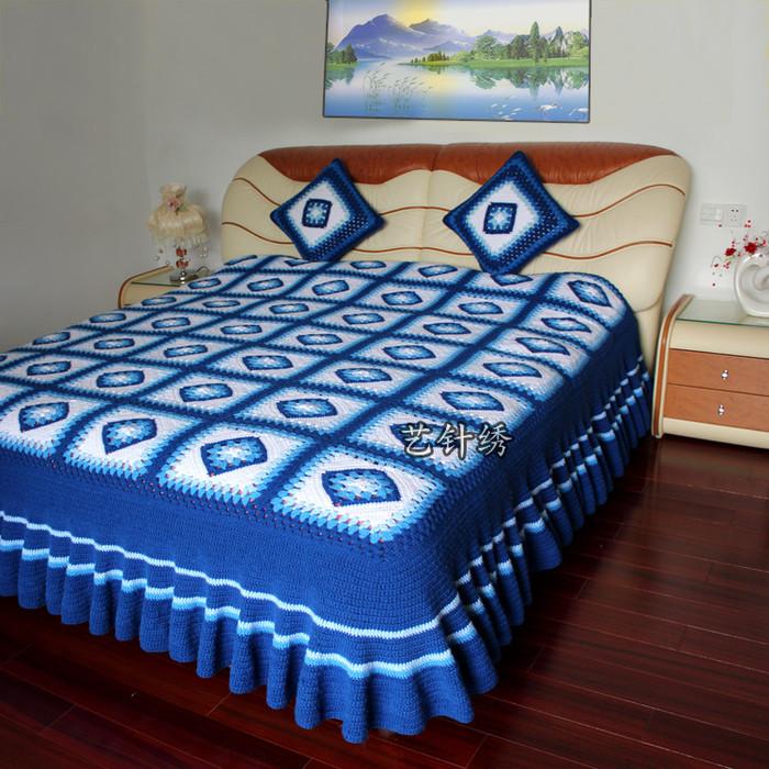 crochet draps and pillows for wedding | make handmade