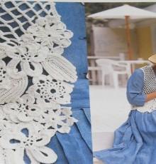 crochet flower vest for ladies