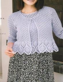 crochet spring shirt and tunic