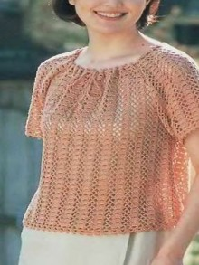 crochet spring sweater