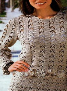 crochet summer sweater for beach