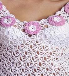 crochet summer top for beach