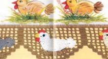 easter crochet: crochet hen pattern