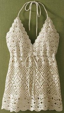 fashion crochet top for girl