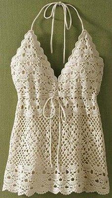 Fashion Crochet Top For Girl Make Handmade Crochet Craft