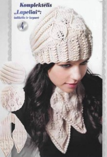 knitting beauty hat and scarf