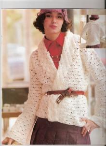 crochet jacket, crochet pattern