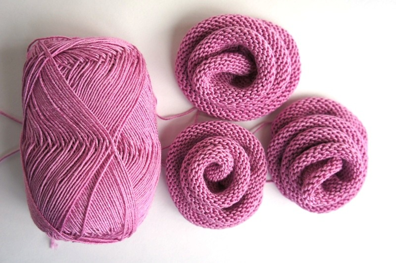 ... for clothing: knitted roses tutorial make handmade, crochet, craft