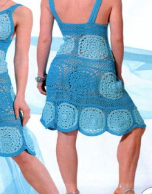 crochet dress for beach