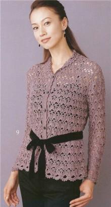 crochet spring vest for women, crochet patterns