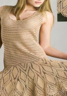 crochet summer dress, crochet pattern