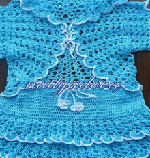 crochet summer and spring vest and skirt for little girls