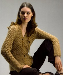 knitting cute sweater