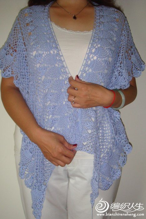 Free Crochet Pattern For Ladies Shawl : lace shawl for women, free crochet pattern make handmade ...