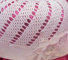 spring hat crochet pattern