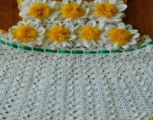 crochet summer dress for baby