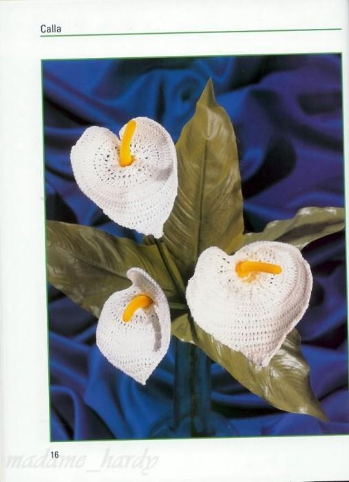 Callalily Flower Crochet Pattern Make Handmade Crochet Craft