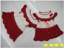 crochet cute dress for girls