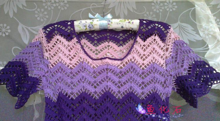 *鱼化石*魅紫(三色凤尾连衣裙201317) - 鱼化石 - 爱你没商量