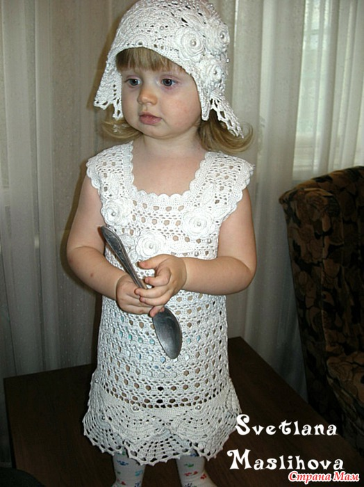 Crochet Snow-white outfit for the little lady ~ Craft ...