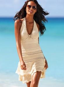 crochet summer dress for beach