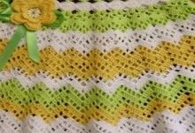 crochet zigzac skirts