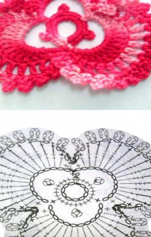 orchid flower crochet patterns