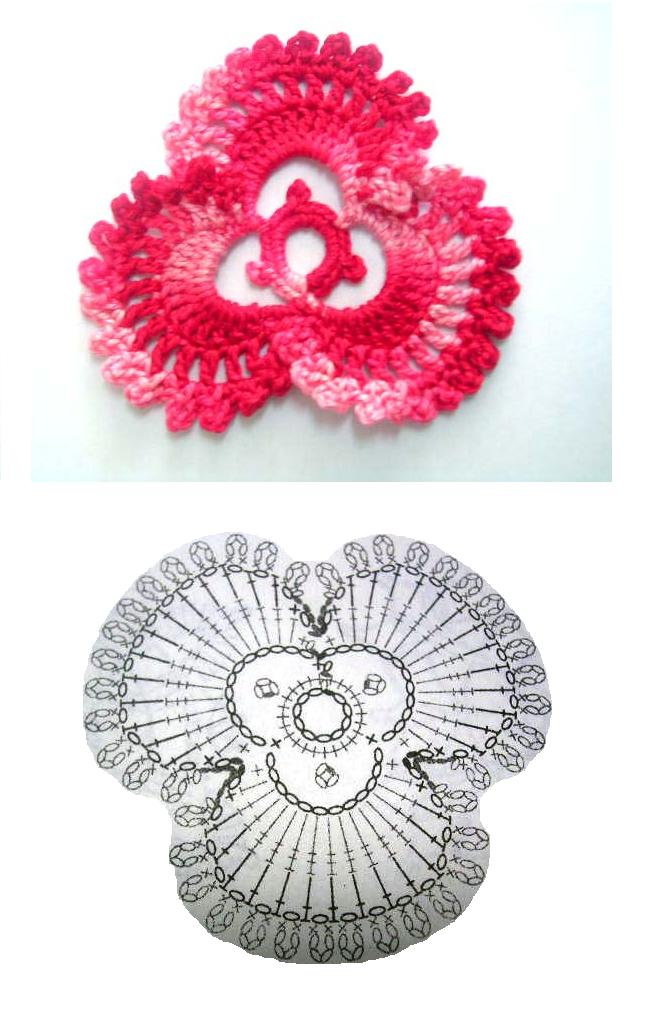 Make Crochet Flower Pattern : orchid flower crochet patterns make handmade, crochet, craft