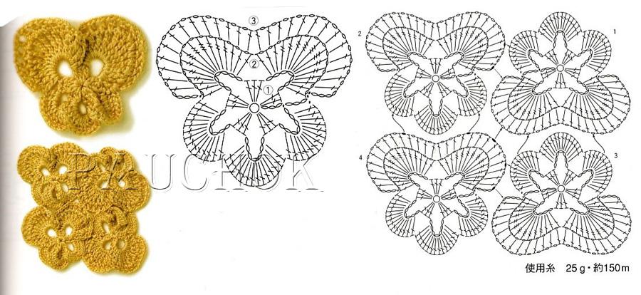 Kayra molek crochet orchid flower crochet patterns orchid flower crochet patterns ccuart Gallery
