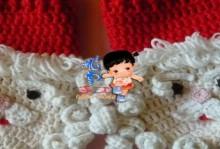 crochet christmas mittens